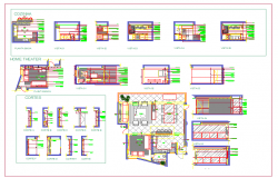 Home Theater Plan Detail