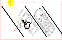 Car Parking detail plan