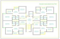 2 Bhk Appartment Plan
