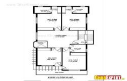 200 sq yards house plan with 3 shops