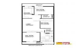 200 sq yards with 3 portions house plan
