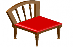 3D Chair Block