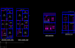 24 x 45 house floor  plan