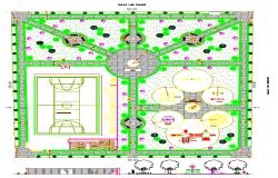 Sport Centre design DWG file