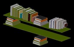 3d Book Storage