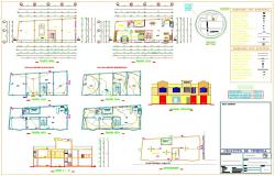 2BHK House Architectural DWG File