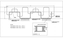2D CAD Drawing Water Pipes Design AutoCAD File Free Download