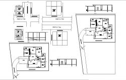 2D Drawing of house in autocad file
