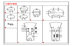 2D block of Electrical valves design drawing