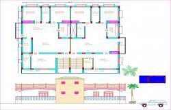 2D plan view