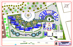Hostel plan Lay-out
