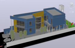 3D Commercial Complex