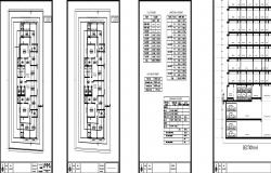 2bhk flats plan section