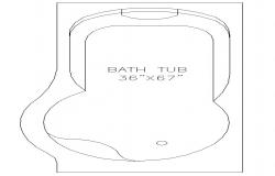 Bath tub Block