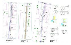 2d Gambar Drainage Cad Drawing
