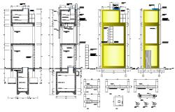 Hospital Architecture Plan and layout in autocad dwg files
