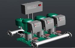 Synchronized table pump