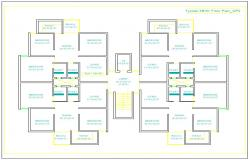3 Bhk Appartment Plan