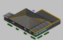 3 D elevation detail dwg file