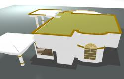 3 D house plan layout file