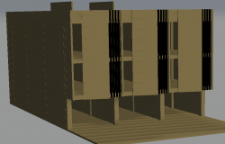3 D shop detail dwg file