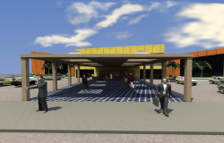 3 D shopping mall plan dwg file