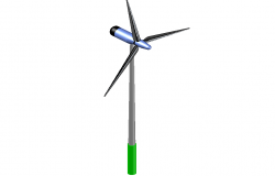 3 d windmill detail dwg file