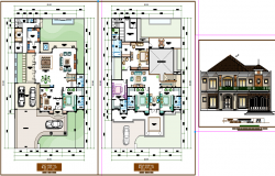 Luxurious Bungalow Plan