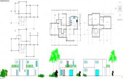 House plan detail file