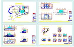 Hotel Detail Design plan