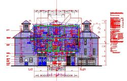 Bungalows autocad drawing