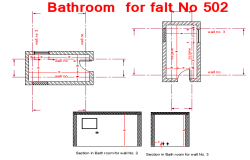 Appartment Bathroom design