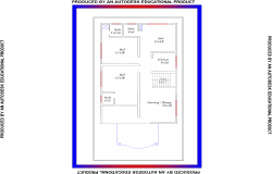 3BHK-Residential house plan view design in pdf
