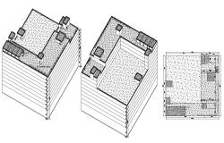 3D Building Design Autocad File