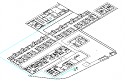 3D Drawing of Hospital Structure Details dwg file
