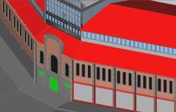 3D Market Entry Gate Design