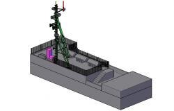 3D Telecom Tower