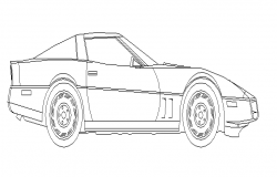 3D car elevation details