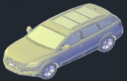 3D design drawing of vehicle of car design