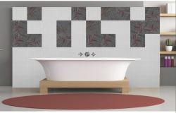 3D drawing of bathroom