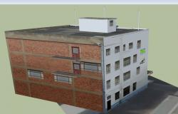 3D drawing of building