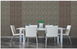 3D drawing of dining area