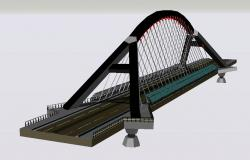 3D drawing of the bridge