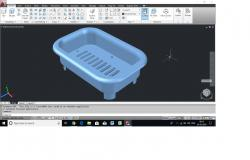 3D model Plastic moulded component