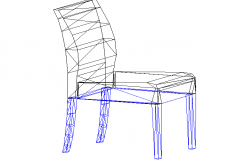 3D view of a chair (2)