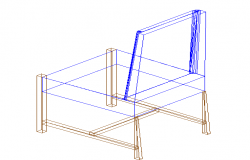 3D view of a chair (3)