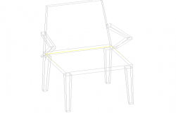 3D view of a chair (4)