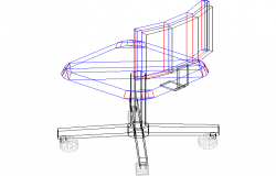 3D view of a chair (6)
