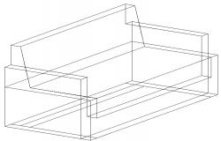 3D view of a sofa-set (1)