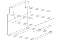 3D view of a sofa-set (3)